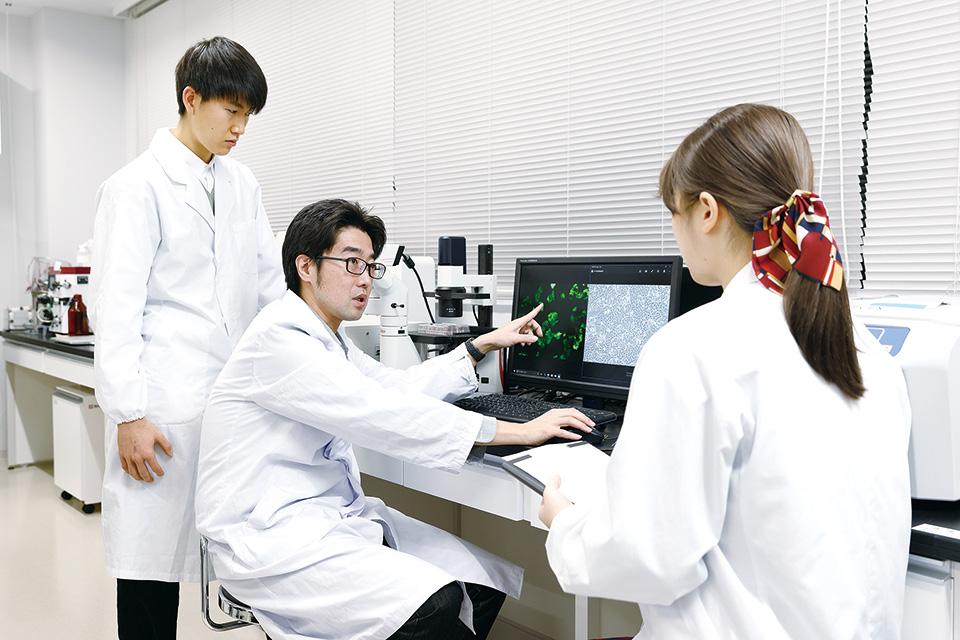 研究室の様子